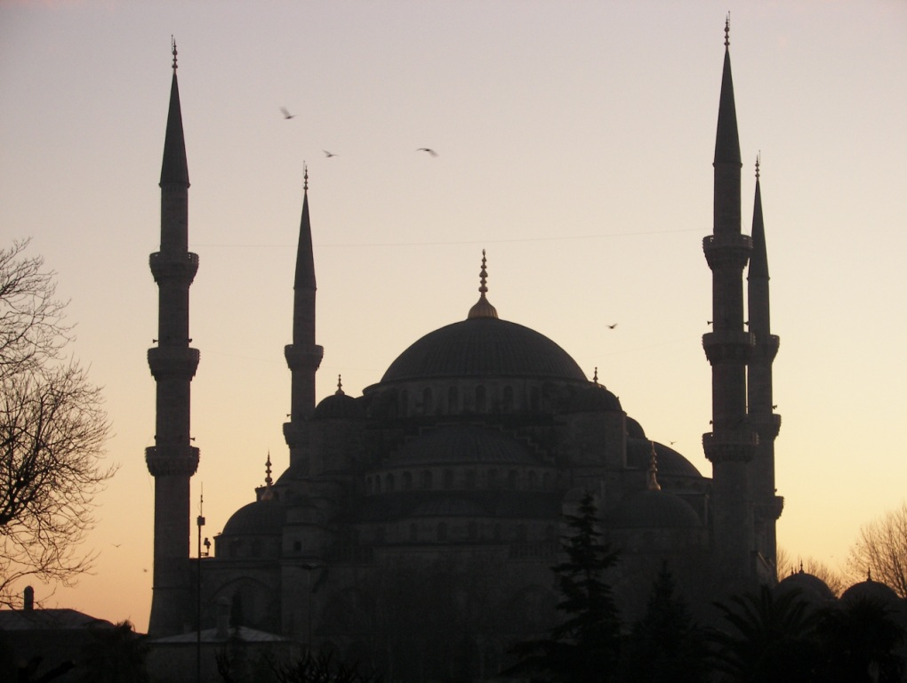 Mezquita Azul en Turquia