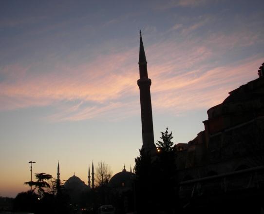 Llamada oración Estambul