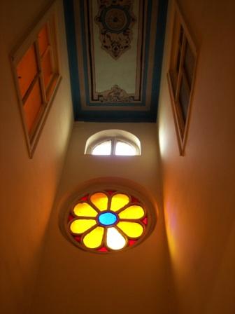 Vidriera Sinagoga Zulfaris