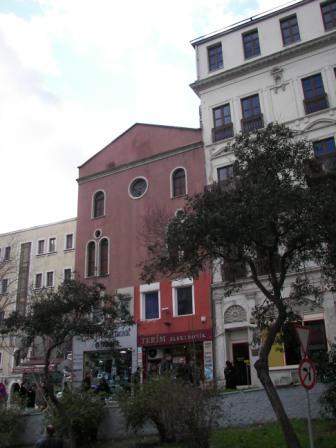 Sinagoga fachada exterior