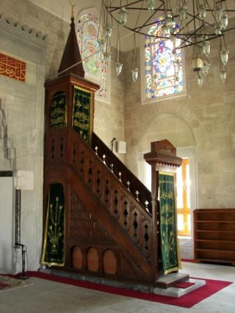 Púlpito Mezquita Estambul