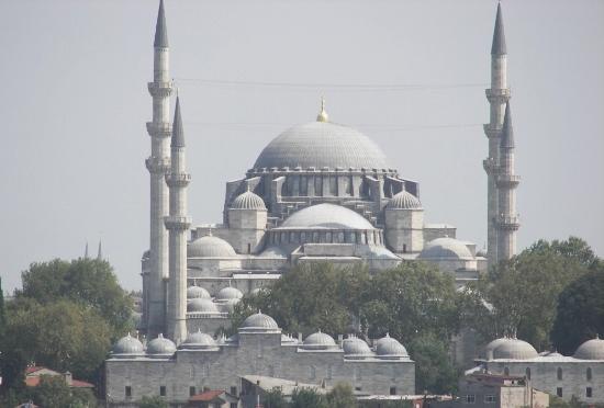 Mezquitas de Suleimán en Estambul