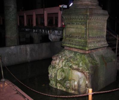 Cisternas Bizantinas Medusa