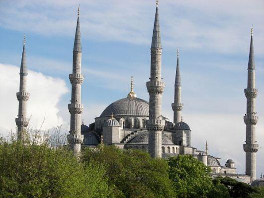 La mezquita Azul Estambul