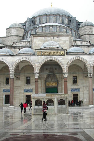 Mezquita de Suleimán en Estambul