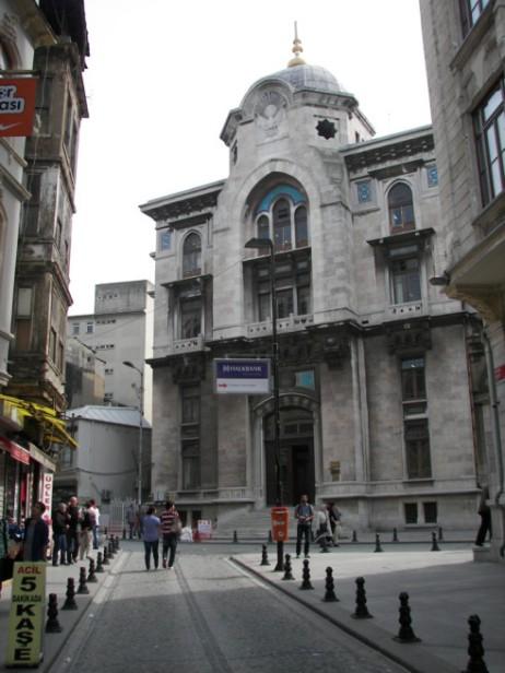 Oficina central de correos de sirkeci planeta estambul for Oficina central correos madrid