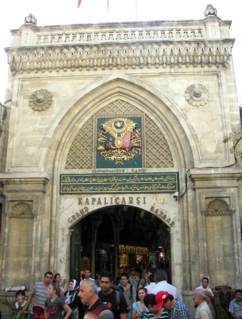 Gran bazar en Estambul