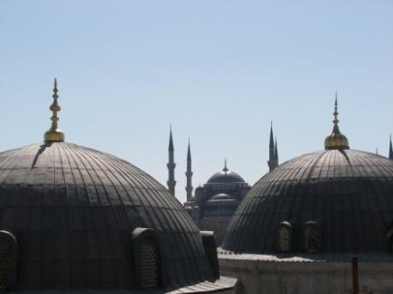 cupula mezquita azul