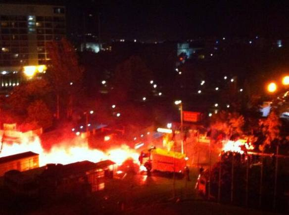 Disturbios Estambul