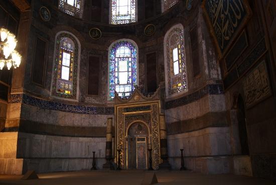Mihrab de la mezquita de Santa Sofia