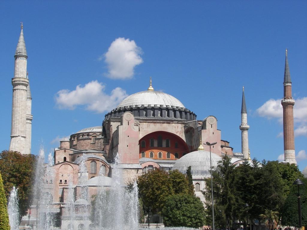 Santa Sofia es el monumento más popular de Estambul