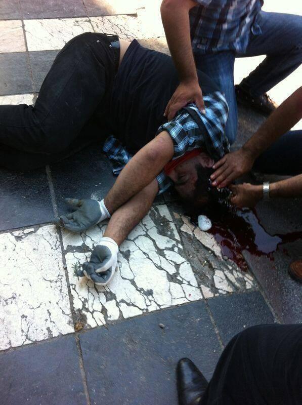 Muerto en disturbios Estambul