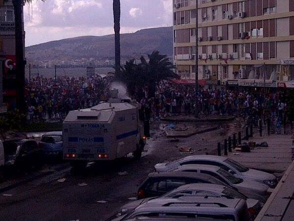 Disturbios Izmir