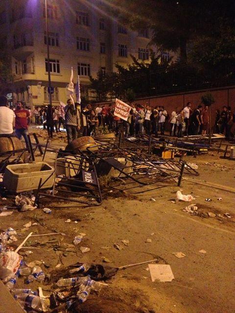 Disturbios en Turquía