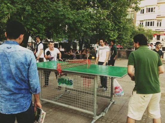 mesa de ping pong Estambul