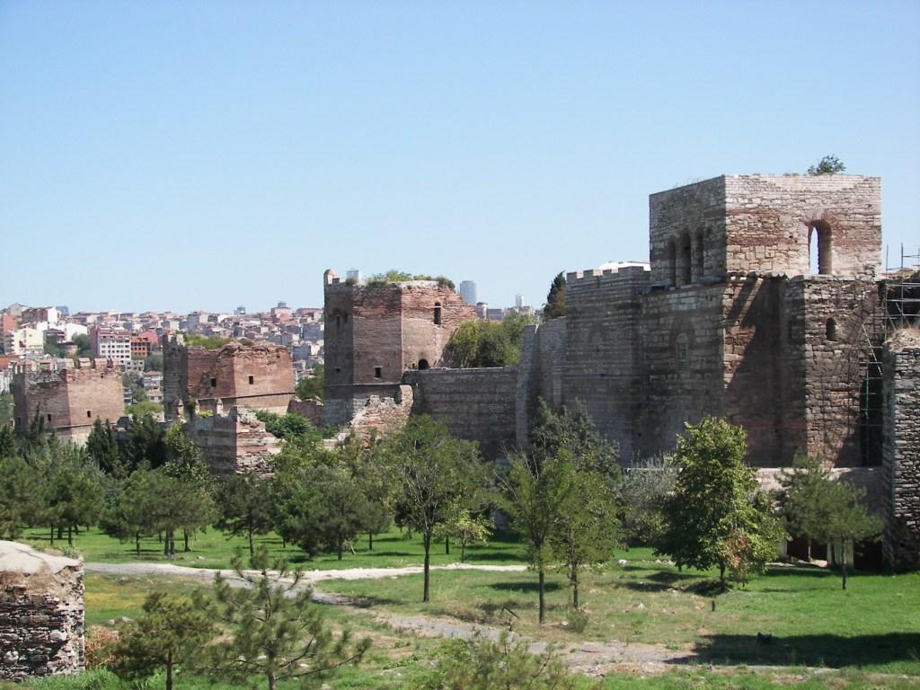 Murallas bizantinas