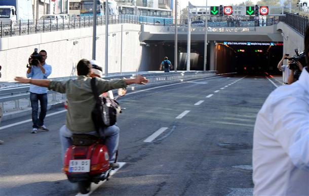 túneles de Taksim