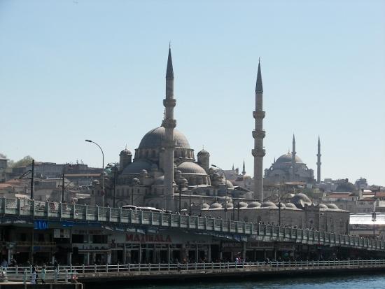 Puente de Gálata en Estambul
