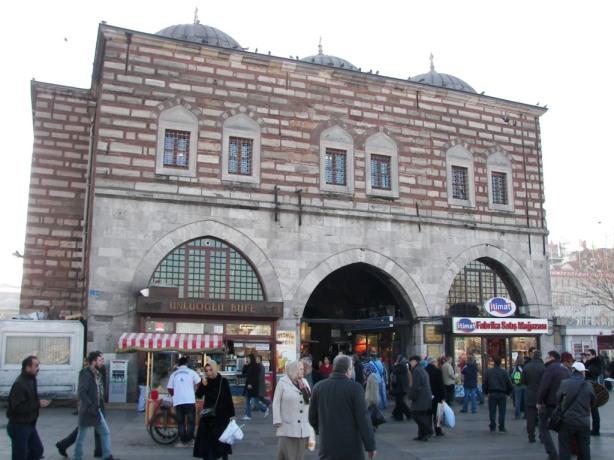 Mercado de las especias Estambul