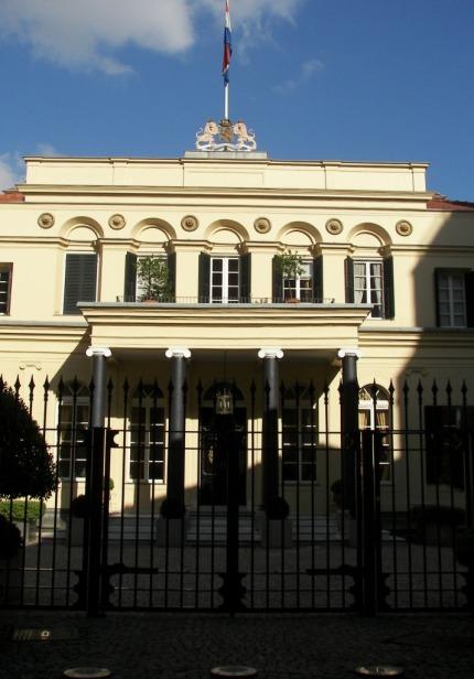 Edificio consular Holanda en Estambul