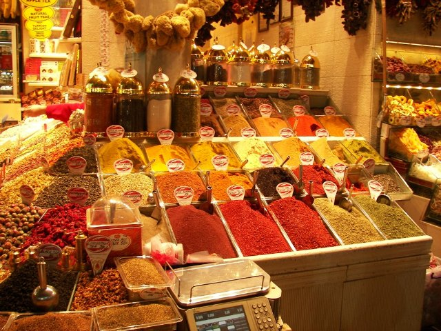 Bazar de las especias el sabor y la esencia de estambul for Bazar del cocinero