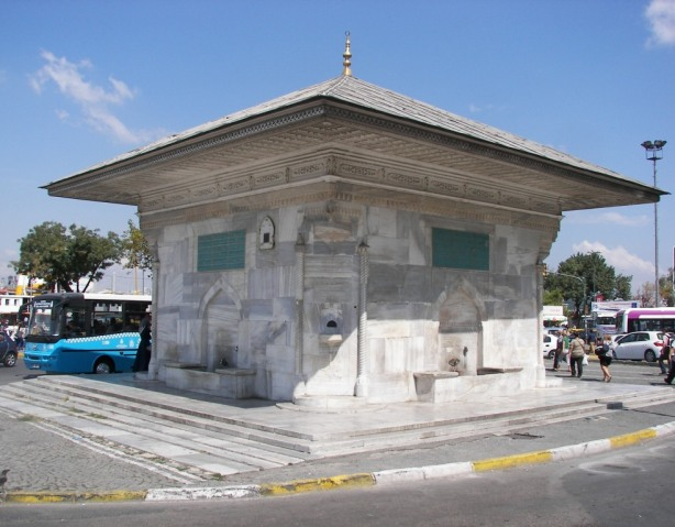Fuente Ahmet III Estambul