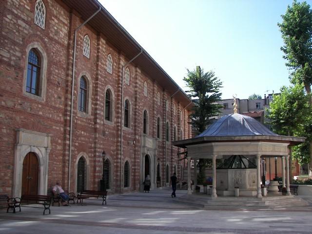 Patio Mezquita Estambul