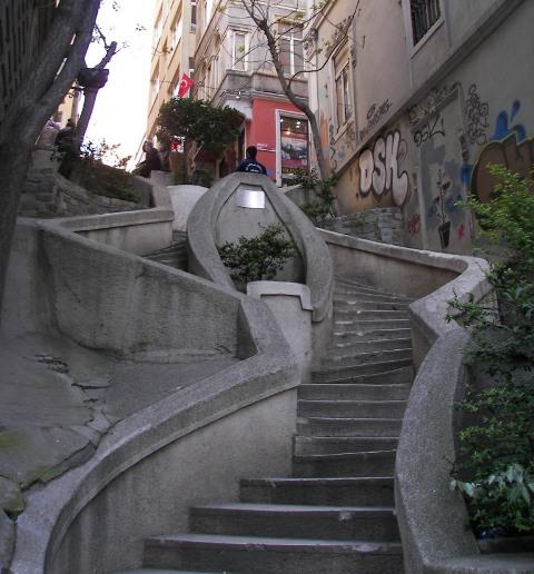 Escalera de Kamondo Estambul