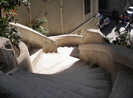 Escaleras de Kamondo Istanbul