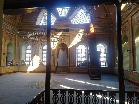Interior de la Mezquita de Cihangir