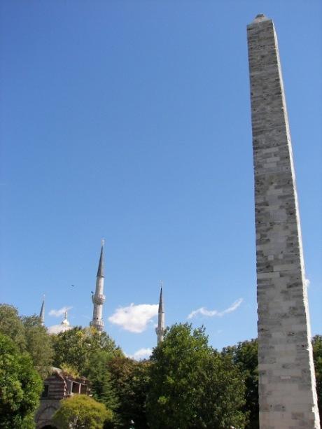 obelisco de Constantino Estambul