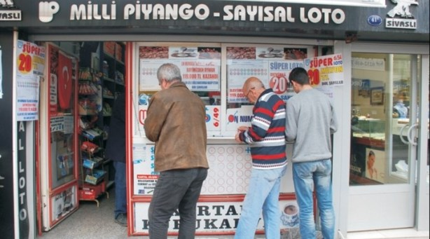 Casa de loteria Turquia