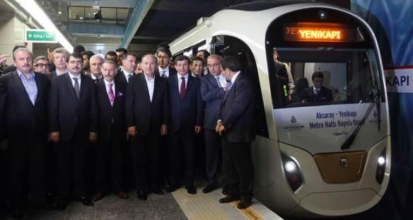 Metro Yenikapi Aksaray