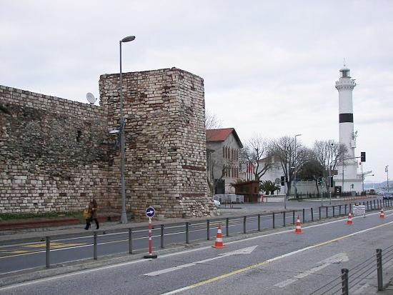 Faro de Ahırkap Estambul