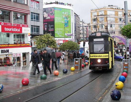 Tranvía de Kadiköy a Moda