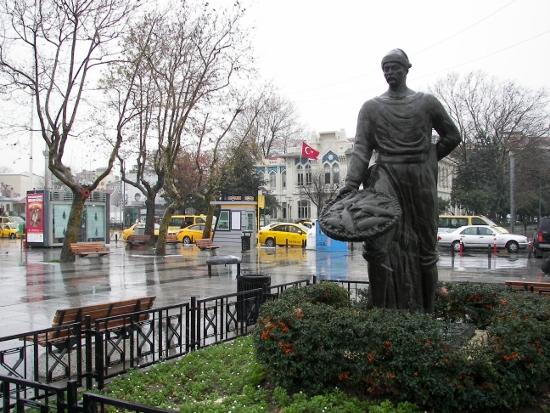 Vendedores de pescado Kadiköy