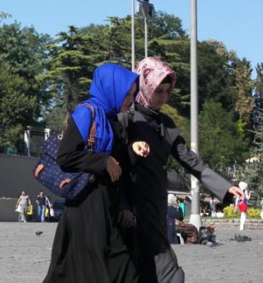Mujeres tradicionales turcas