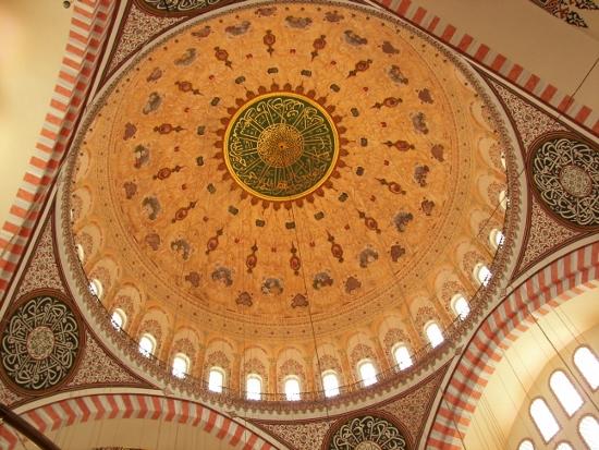 Cúpula mezquita de Suleimán en Estambul