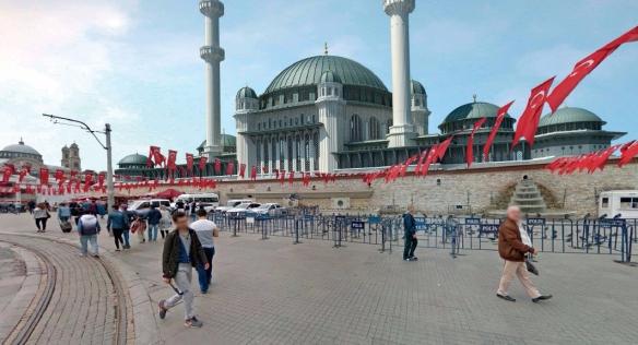nueva mezquita de Taksim