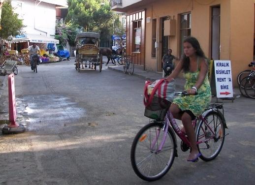 Büyükada bicicletas