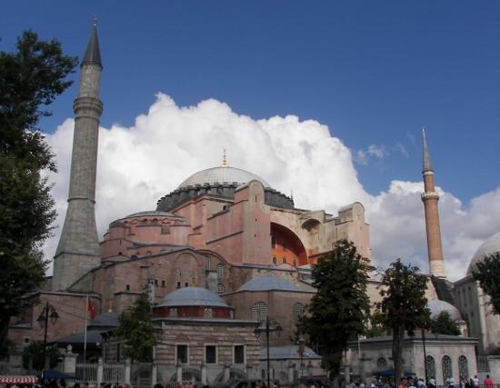 Basilica de Santa Sofia en Estambul