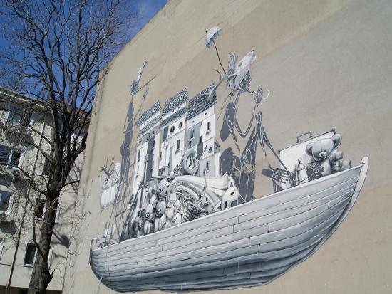 arte urbano en Estambul