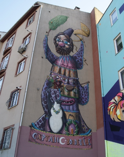 Grafiti Captain Borderline