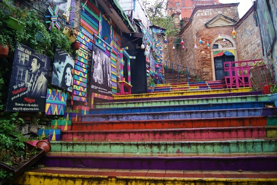 Istanbul stairs