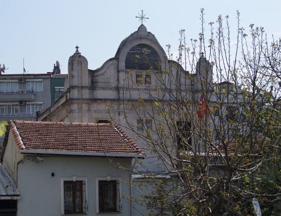 Templo armenio en Estambul