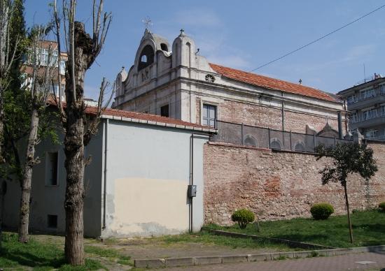 Templo cristiano en Estambul