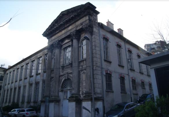 Escuela griega Maraşlı en Fener
