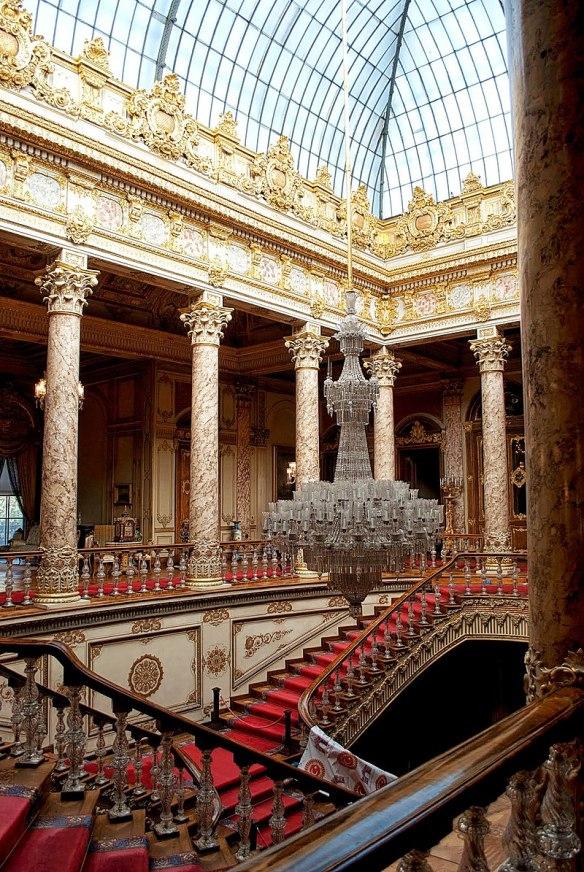 Escalera de cristal Dolmabahçe