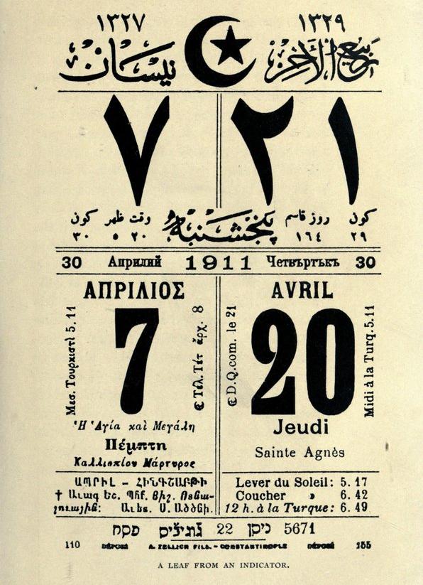 Calendario rumi